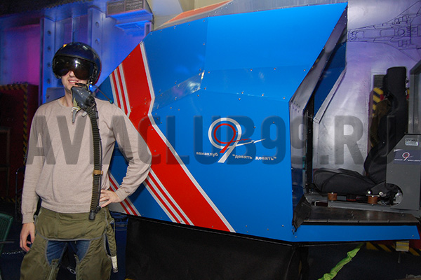 Авиаклуб 99. Авиатренажер. Су-27