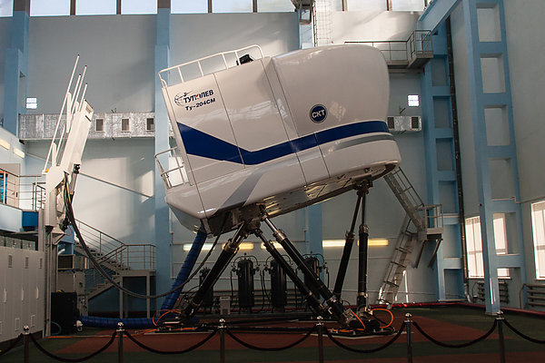 Авиатренажер самолета Ту-204СМ